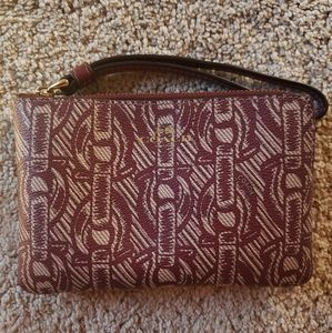 Pink Coach wallet/pouch